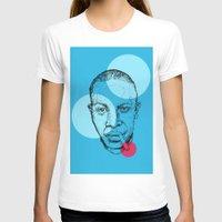 allyson johnson T-shirts featuring Robert Johnson by mr.defeo