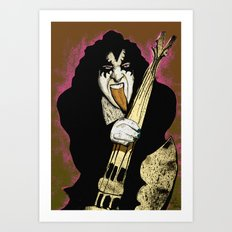 Poster The Great Gene Simmons Art Print