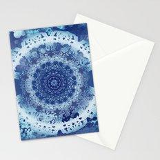 Chambray Anenome Mandala Stationery Cards