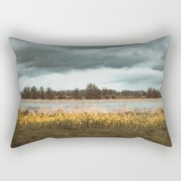 Tasting you in rain Rectangular Pillow
