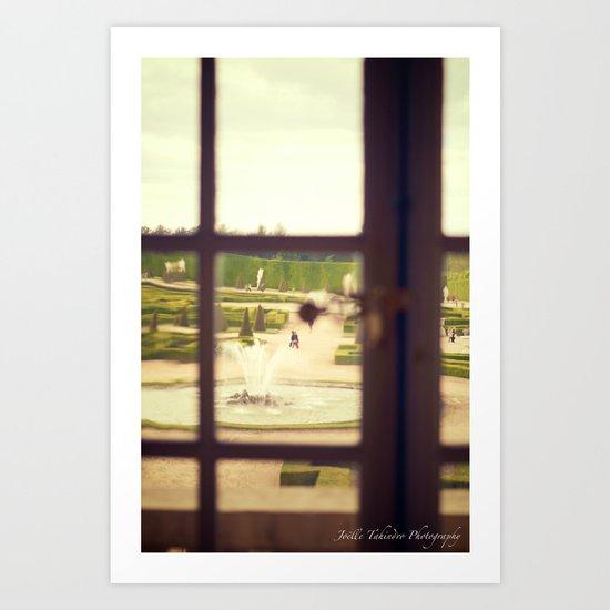 Windows of Versailles I Art Print