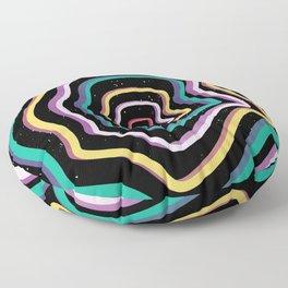 World Trip Floor Pillow