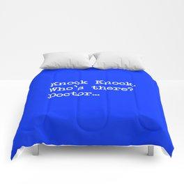 Knock-Knock 1 Comforters