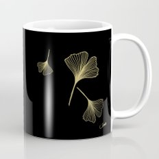 Ginkgo Black Gold Mug