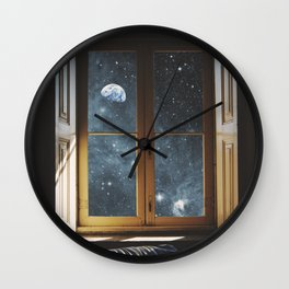 WINDOW TO THE UNIVERSE Wall Clock