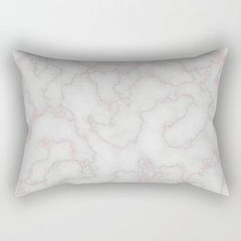 Marble Rosegold Texure Rectangular Pillow