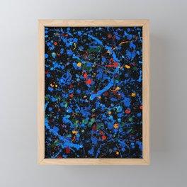 Blue Noir Framed Mini Art Print