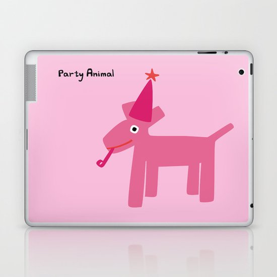 Party Animal-Pink Laptop & iPad Skin