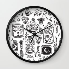 The Tiny Witch Gallery Wall Clock