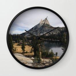 Cathedral Lakes I Wall Clock