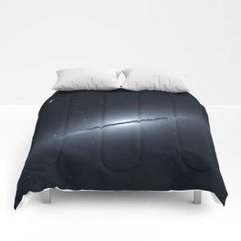 Space galaxy Edge Comforters