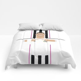 Cristiano Ronaldo Real Madrid Illustration Comforters