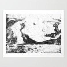 Splash Art Print