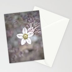 Little mountain flower Stationery Cards
