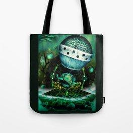 Quadropus Tote Bag