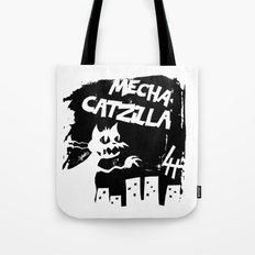 Mecha Catzilla Zero Tote Bag