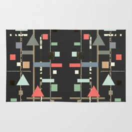 Abstract Aztec No. 1 Rug