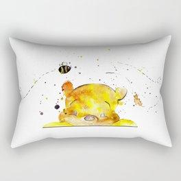 Yellow Bear Rectangular Pillow