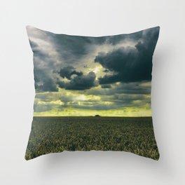 Tempestatem Throw Pillow