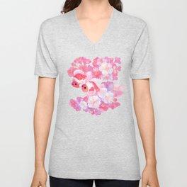 Sakura Ryukin Unisex V-Neck