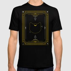 Luna Black Mens Fitted Tee MEDIUM