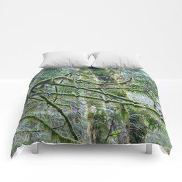 Mossy Branches Comforters