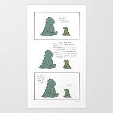Ghost Story  Art Print