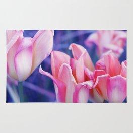 Tulip Dreams in Soft Rose Rug