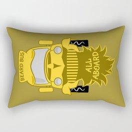Beard Bus Rectangular Pillow