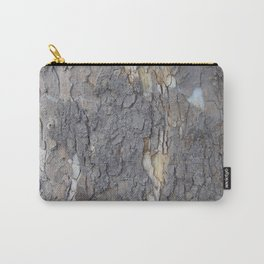 brown sycamore bark Carry-All Pouch