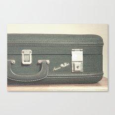 Aero Pak Suitcase - Travel Print Canvas Print