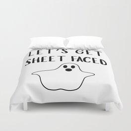 Get Sheet Faced Duvet Cover
