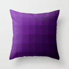 Amethyst Skies Throw Pillow