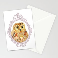 A Portrait of an Owl Stationery Cards