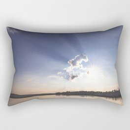 Shadow Rays Rectangular Pillow