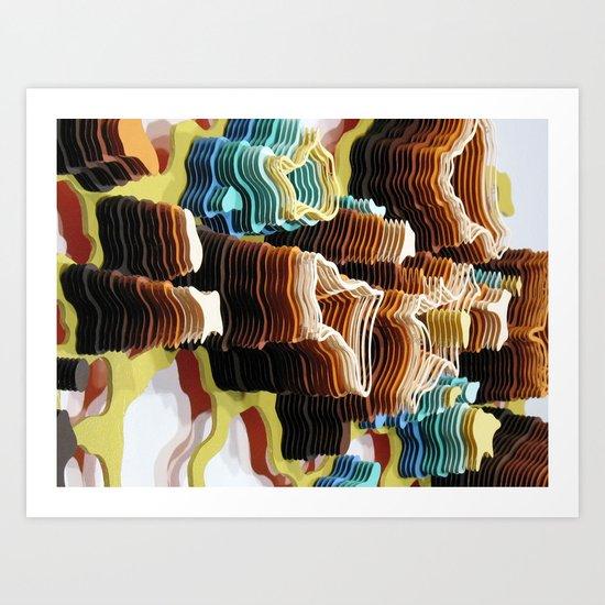 Fermatic Wilderness Art Print