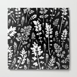 plenty of plants in the dark Metal Print