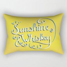 Sunshine & Whiskey Rectangular Pillow
