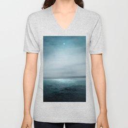 Sea Under Moonlight Unisex V-Neck