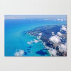 Coast of Mexico Canvas Print
