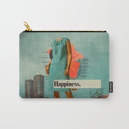Happiness Here Carry-All Pouch