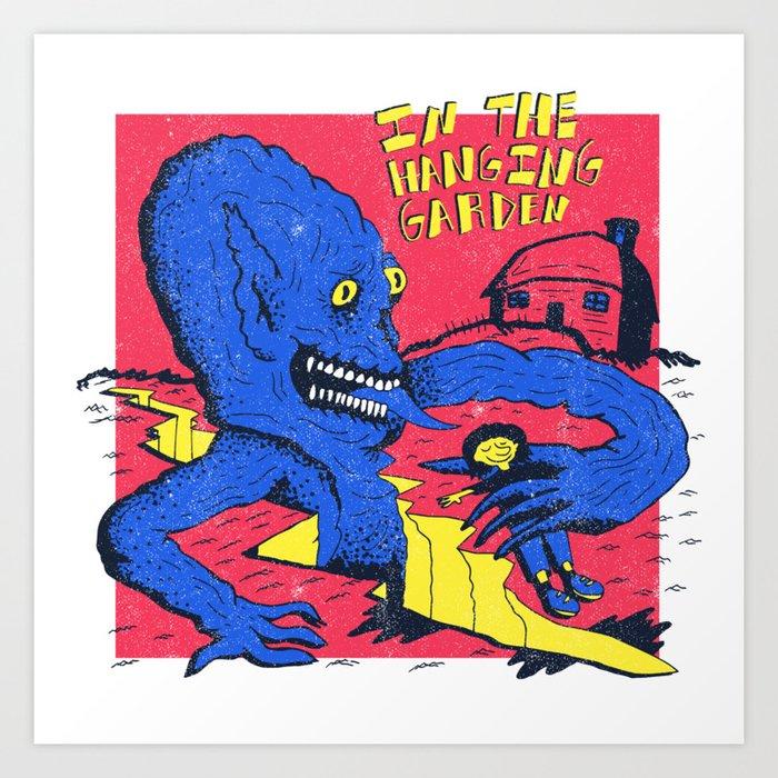 The Gate X Cure Art Print
