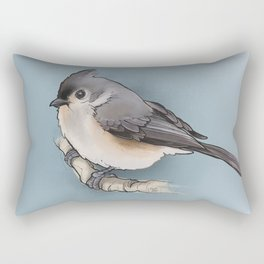 titmouse Rectangular Pillow