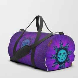 Sublime Moon Tapestry #1 Duffle Bag