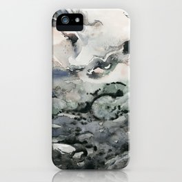 Dark Geode iPhone Case