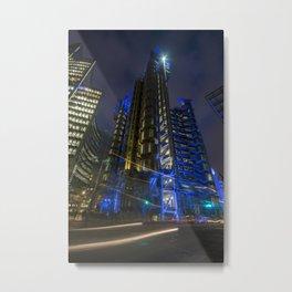 Futurescape Metal Print