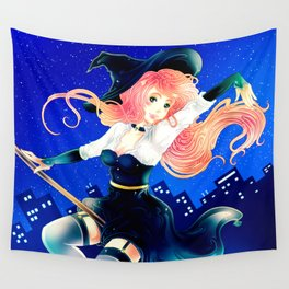 Bright Halloween Wall Tapestry