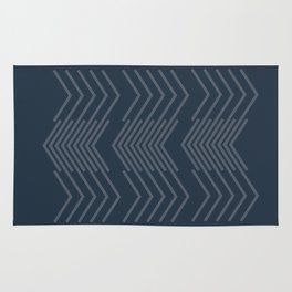 Blue Zags Rug