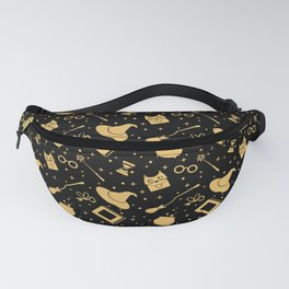 Magic symbols (black) Fanny Pack