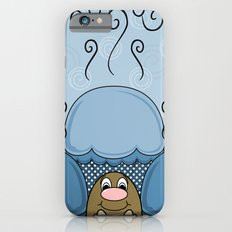 Cute Monster With Blue Frosted Cupcakes Slim Case iPhone 6s